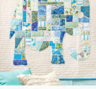 Ticker-Tape Elephant Wall Hanging Video Sewing Class