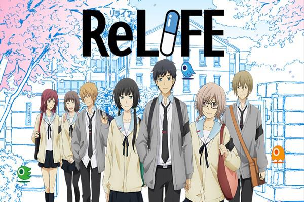 ReLife อนิเมชั่นแนวโรแมนติกคอมเมดี้ที่ดัดแปลงมาจากมังงะยอดนิยม อนิเมะไทยฉากนี้โคตรดีANIMEไทย ReLife