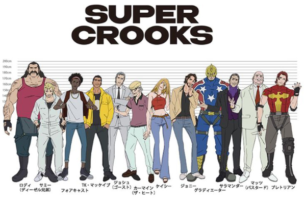 Super Crooks ภาคล่าสุดที่จะฉายบน Netflix จะอ้างอิงมาจากการ์ตูนต้นฉบับ อนิเมะไทยฉากนี้โคตรดีANIMEไทย SuperCrooks Netflix