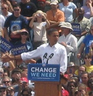 Barrack Obama 2008 - Dunedin