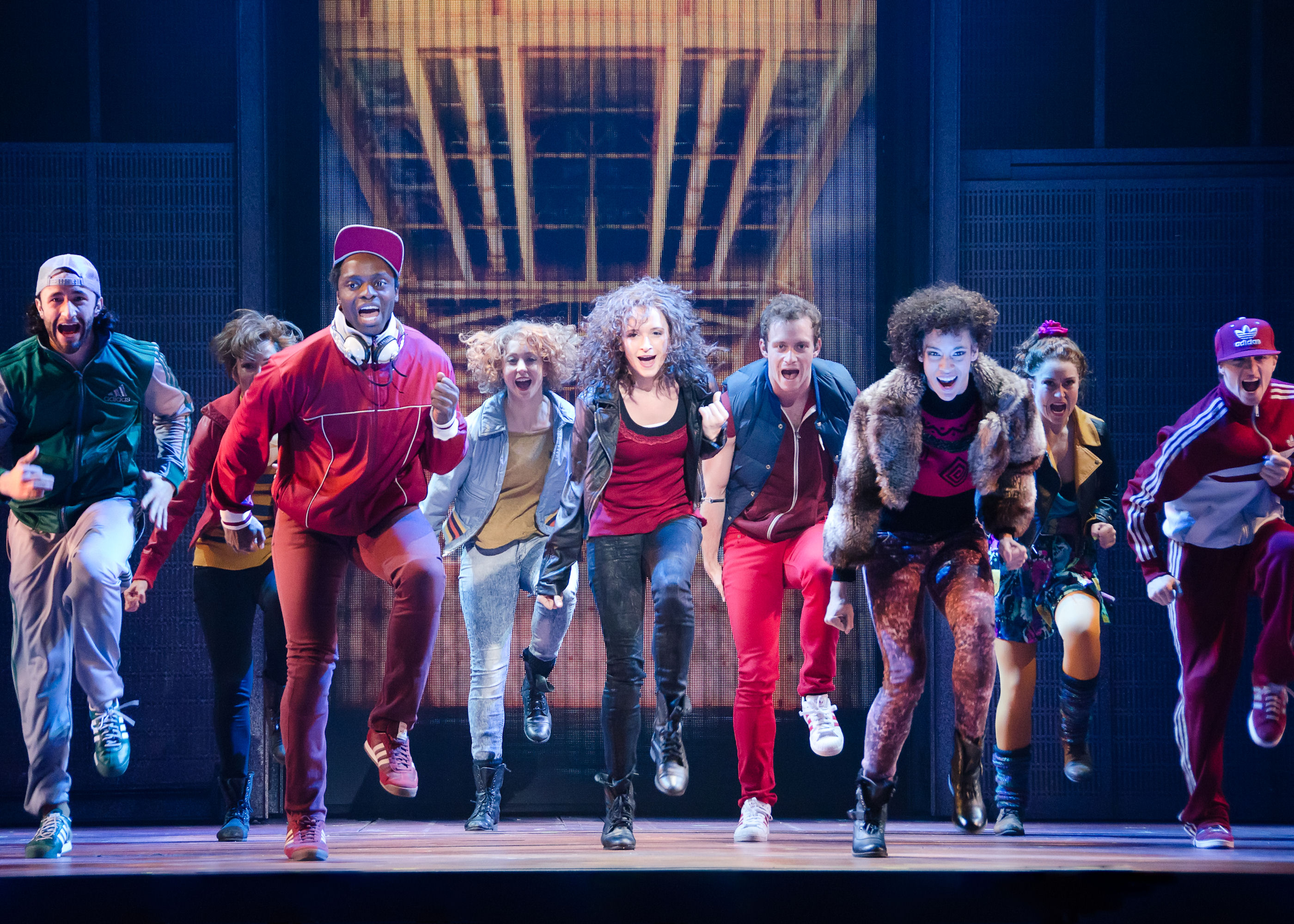Flashdance Company - Photo by Kyle Froman