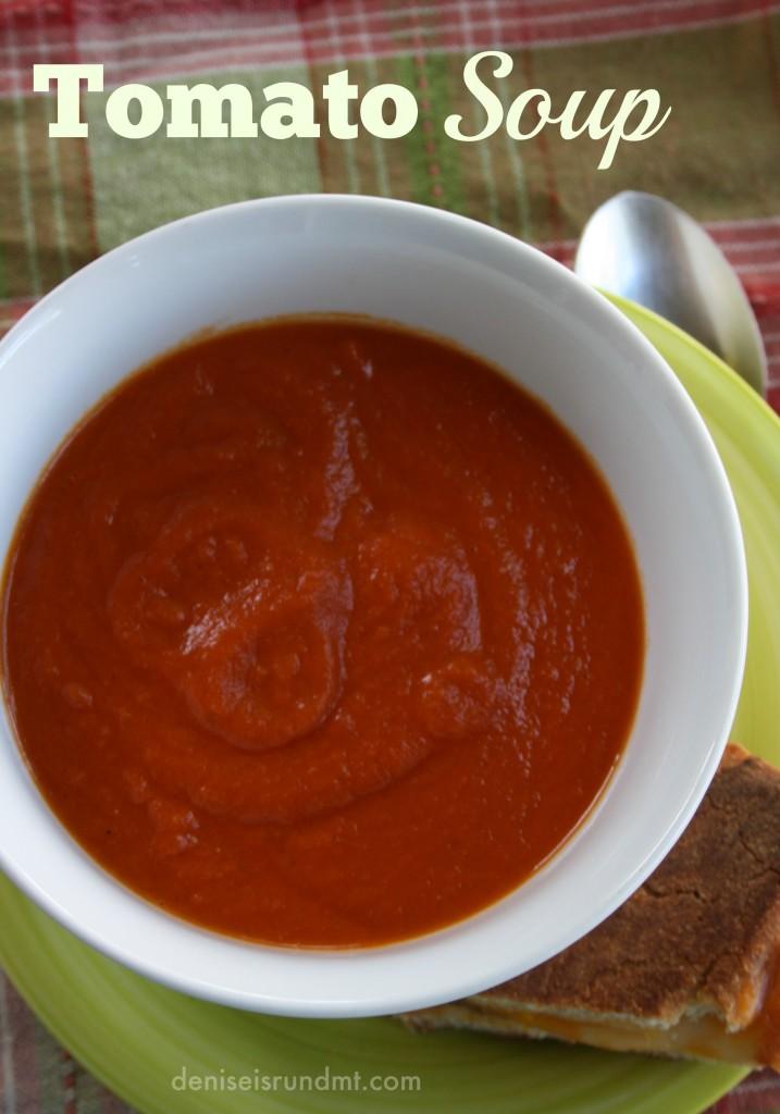 Tomato Soup #SundaySupper