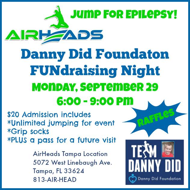 Airheads #TeamDannyDid Fundraiser