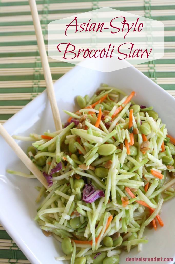 Asian-Style Broccoli Slaw