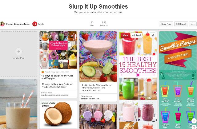 Run DMT Smoothie Pinterest Board