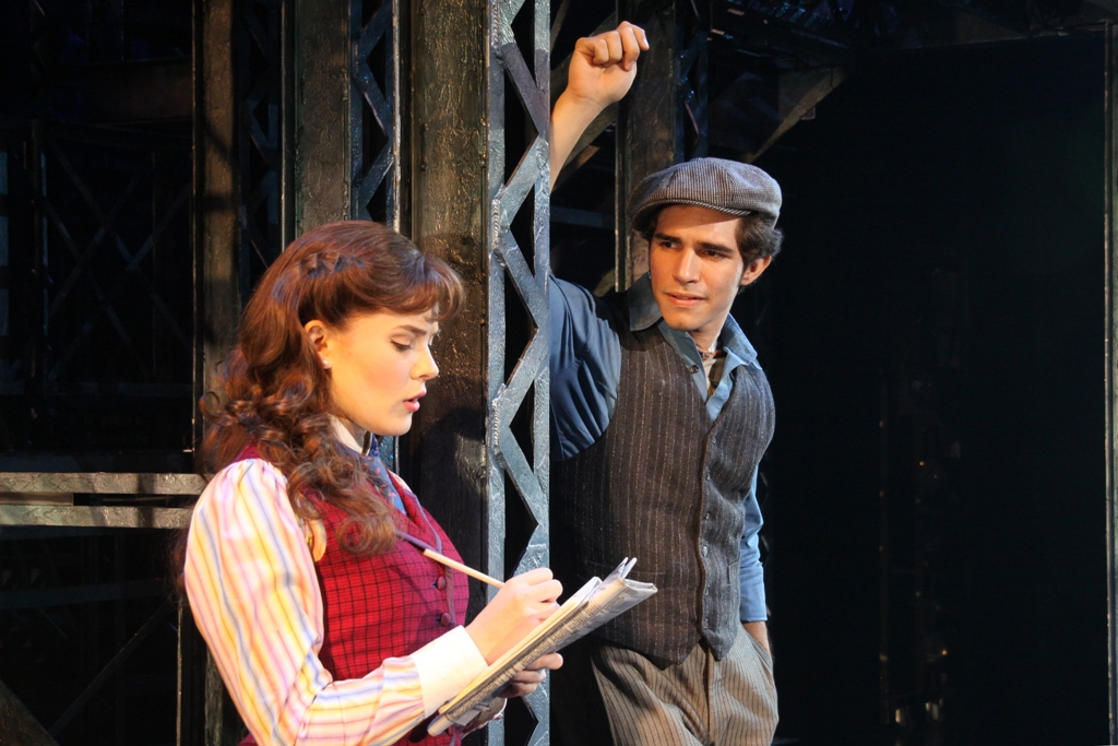 Morgan Keene and Joey Barreiro (Jack Kelly). ©Disney. Photo by Shane Gutierrez.