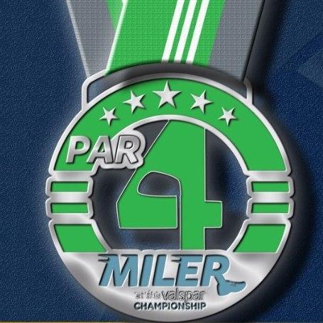 Par4Miler medal