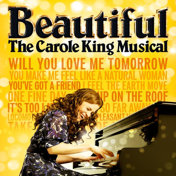 Beautiful the carole King Musical -poster