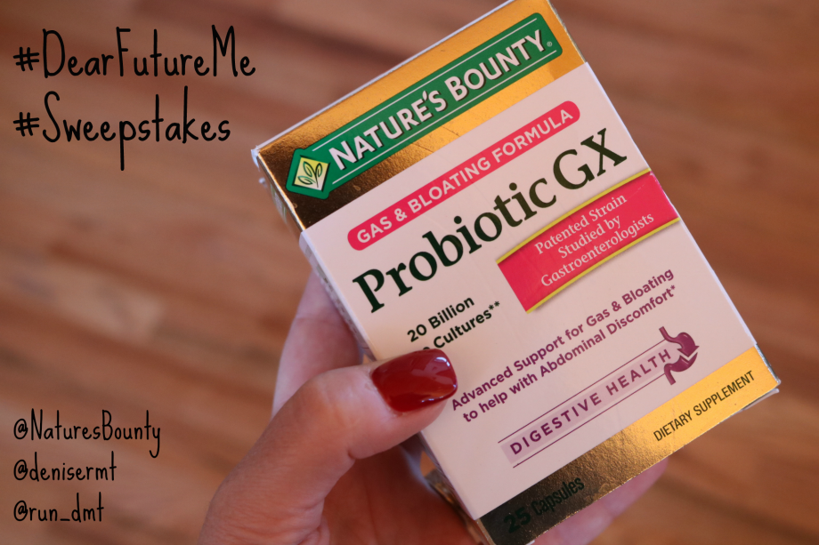 #ad #DearFutureMe Probiotics Nature's Bounty - Run DMT