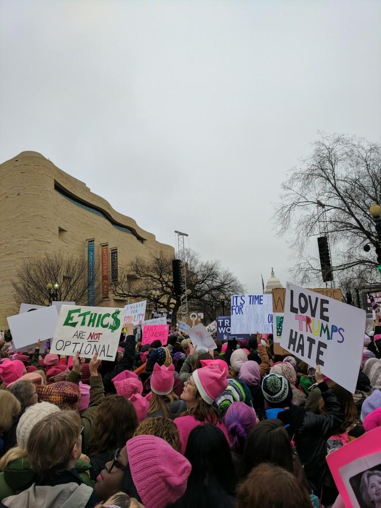 Women's March DC -8