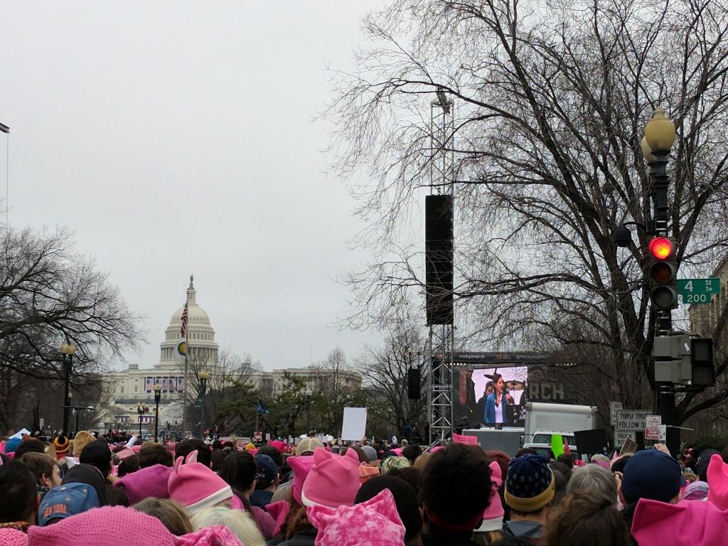 Women's March DC - Ashley Judd