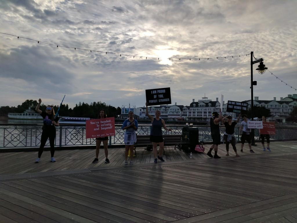 Star Wars Half Marathon - Boardwalk signs1