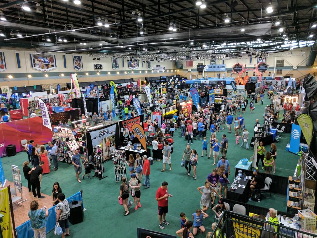 Star Wars Half Marathon Expo