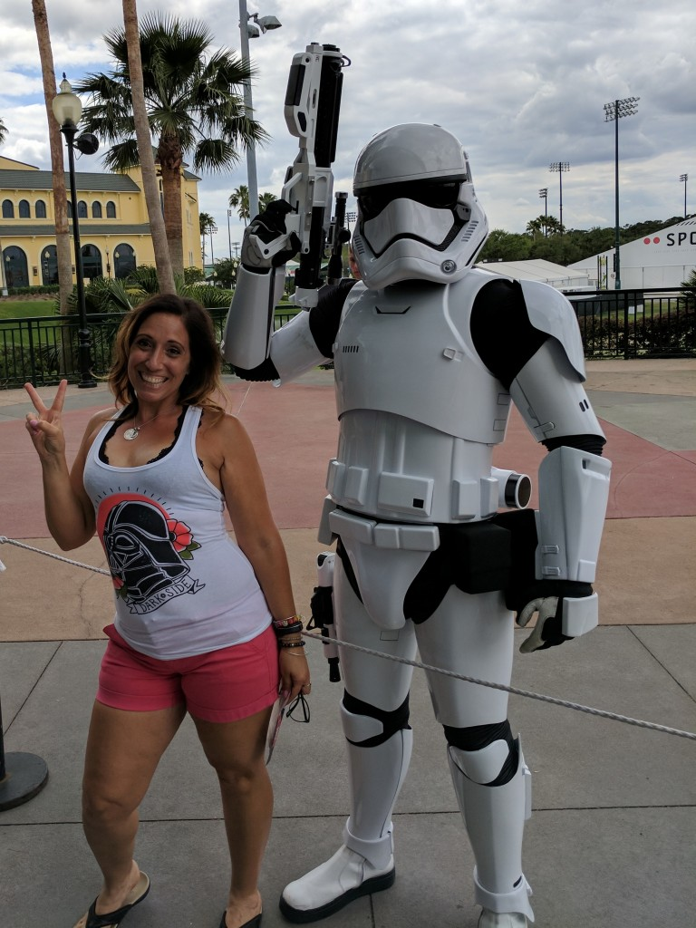 Storm Trooper - star wars half expo