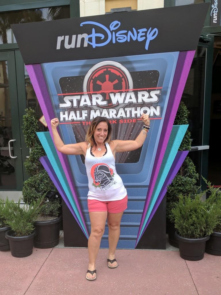 expo- Star Wars Half Marathon