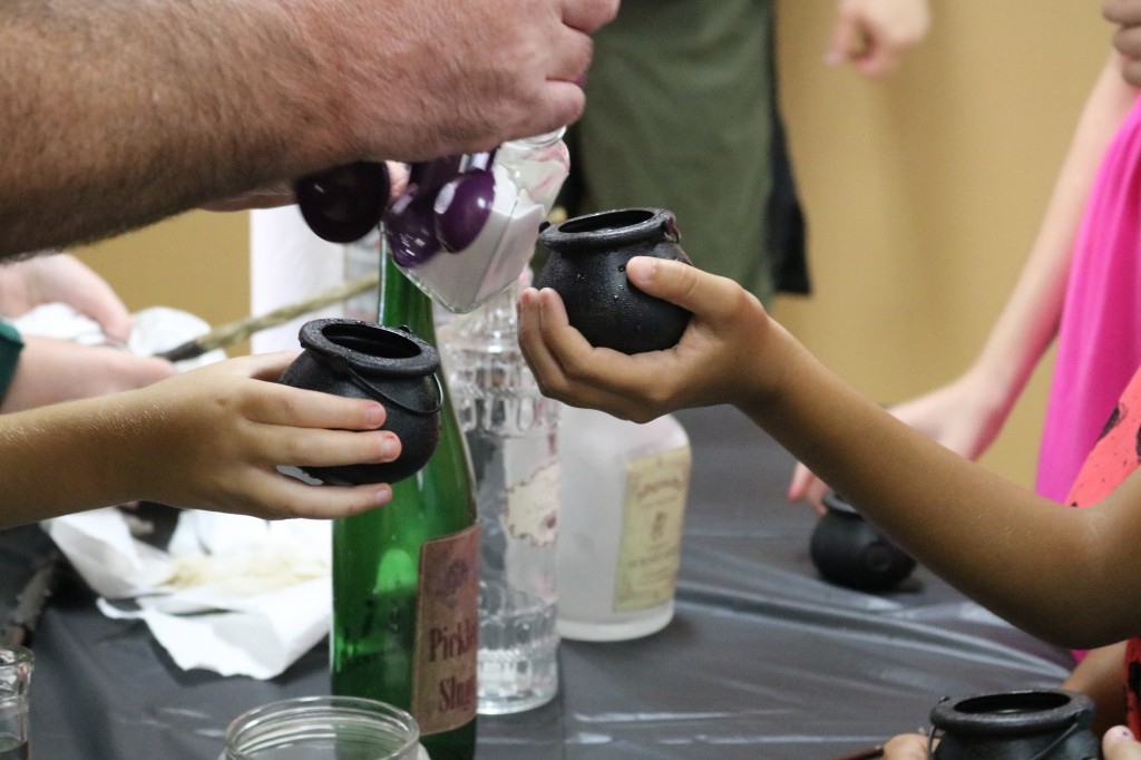 Harry Potter potions class - baking soda