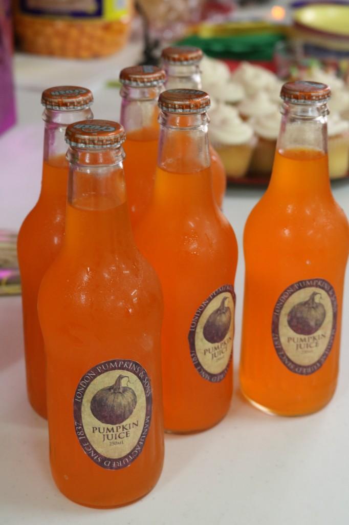 Harry Potter Party-Pumpkin Juice
