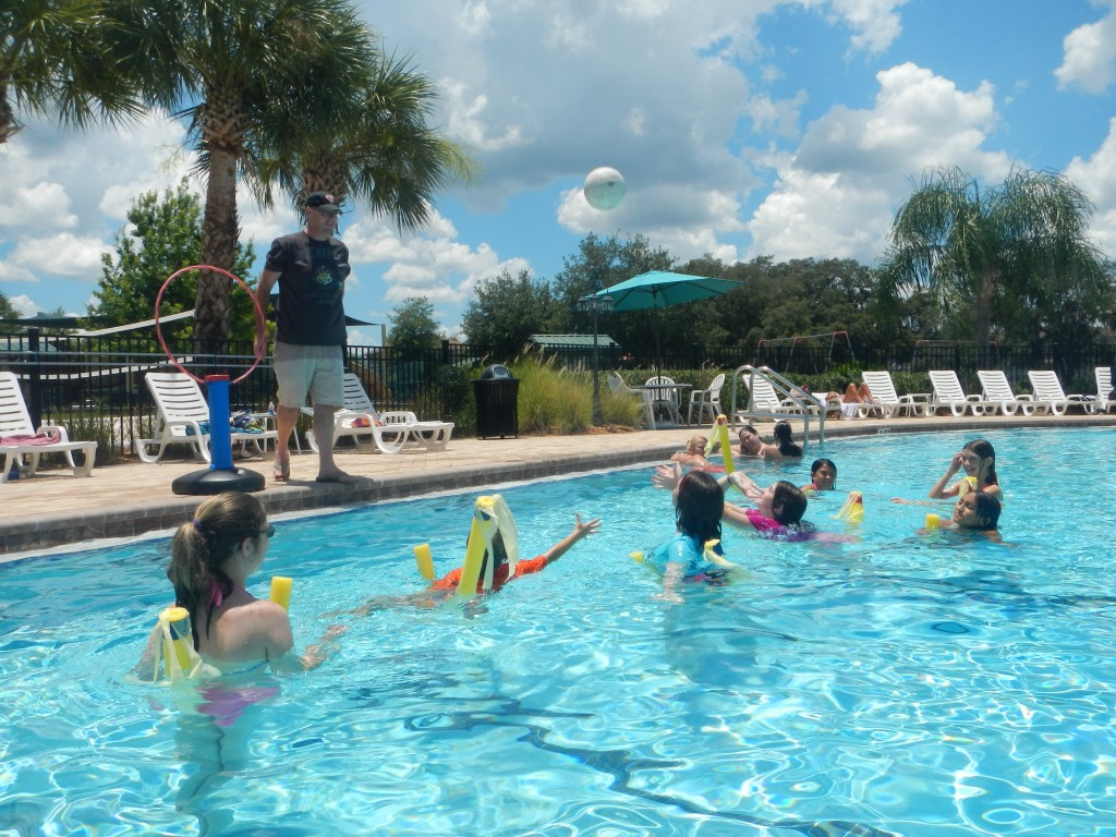 Pool Quidditch -Harry Potter Party