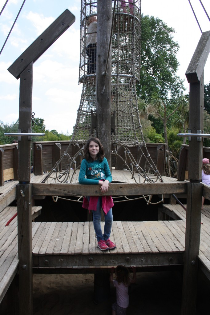 pirate ship-Kensington Gardens