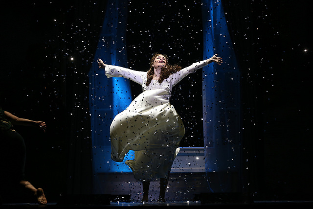 Christine Dwyer as Sylvia Llewelyn Davies in the National Tour of Finding Neverland Credit Carol Rosegg