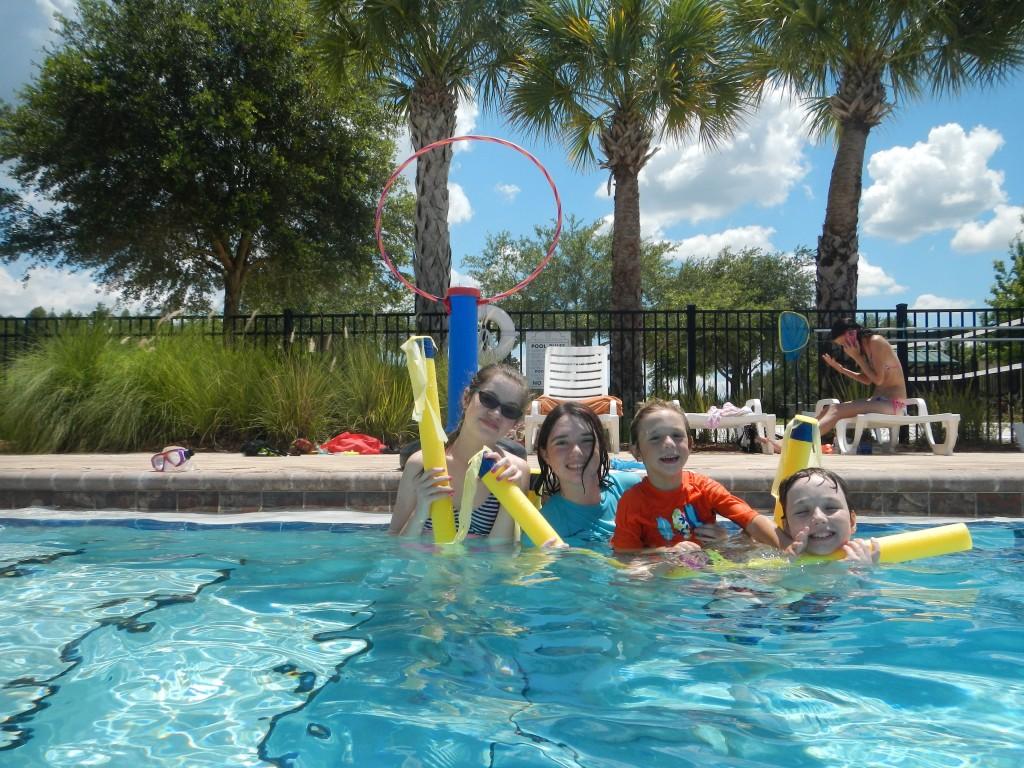 Water Quidditch-Team Gryffindor