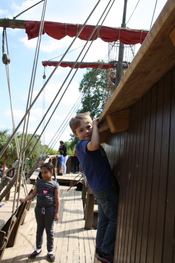pirate -ship- Kensington Gardens-Liam