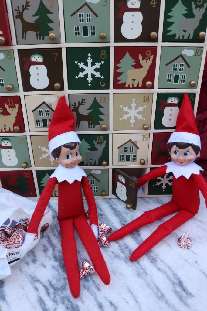 Elves and Advent Calendar