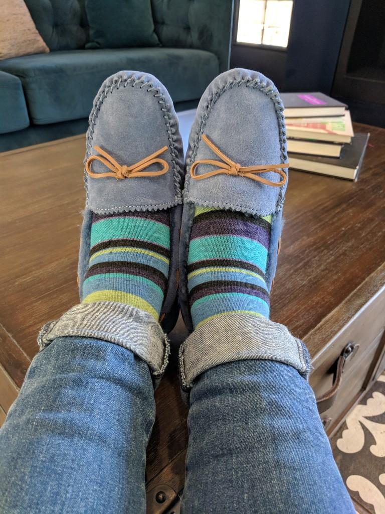 ABEO Halifax - The Walking Company - Feetures socks - Run DMT