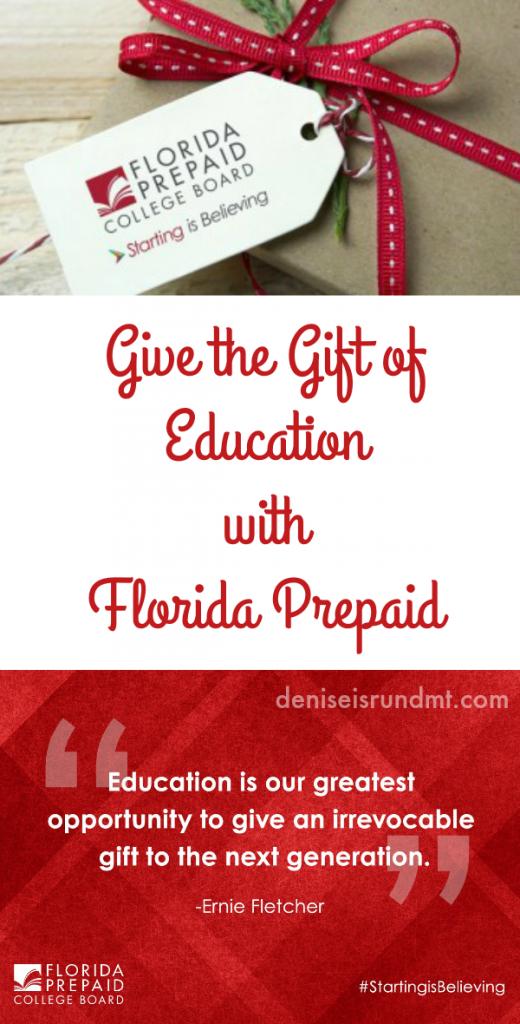 Florida Prepaid - Gift of Education - Run DMT
