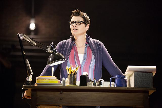Kate Shindle as 'Alison' in Fun Home. Photo: Joan Marcus
