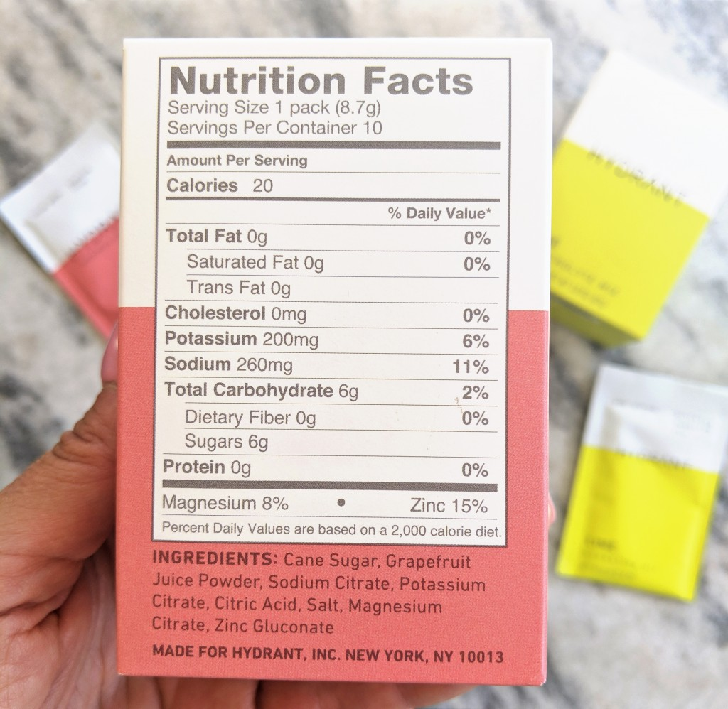 Hydrant-Grapefruit-Ingredients
