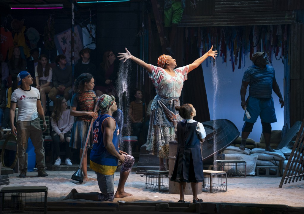The Company of the North American Tour of ONCE ON THIS ISLAND Photo credit Joan Marcus