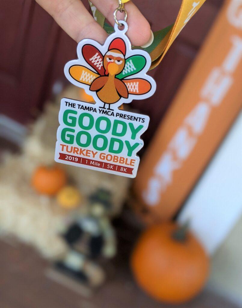 Goody Goody Turkey Gobble medal