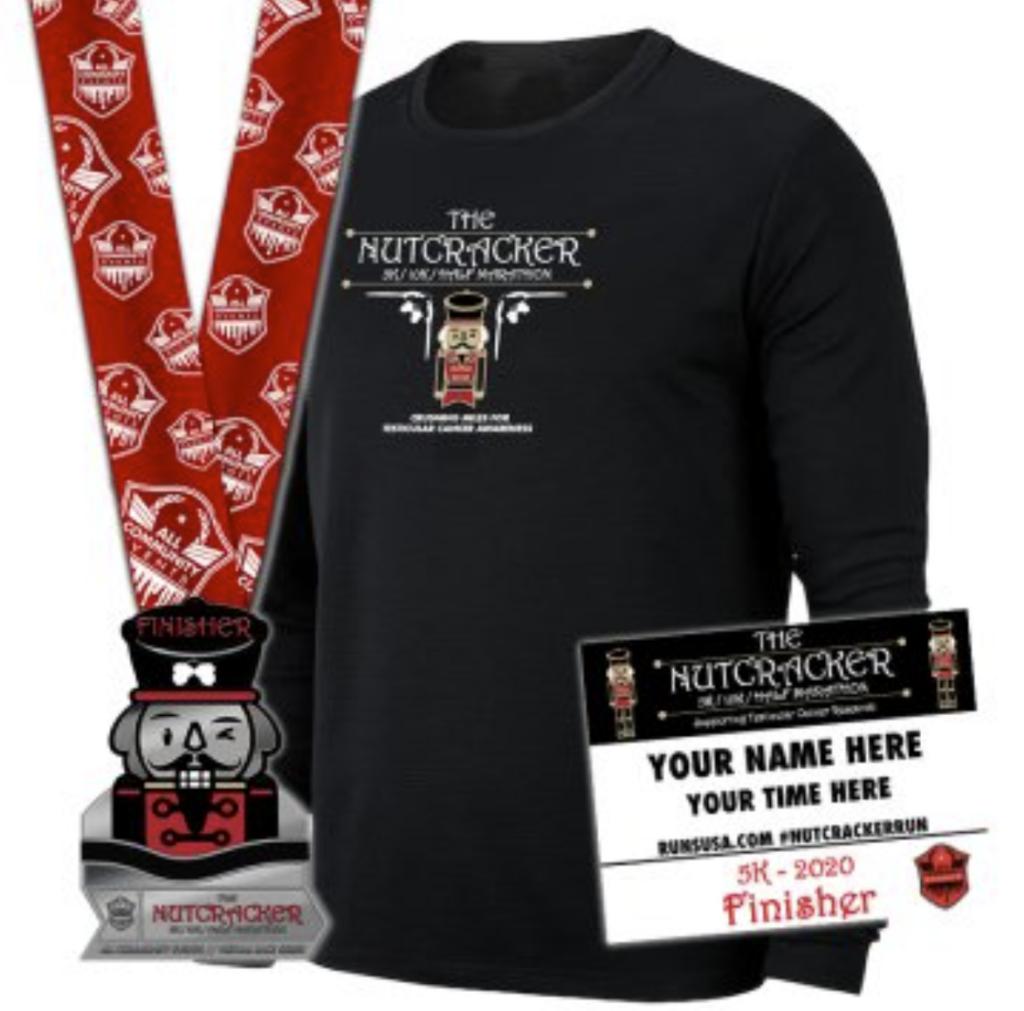The Nutcracker themed fun run - virtual race