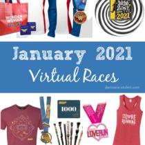 virtual races - fun runs- January 2021