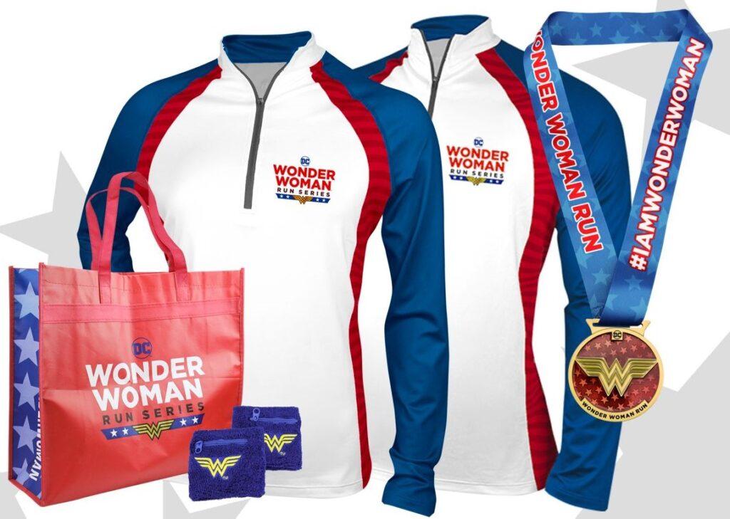 Wonder Woman Virtual Race