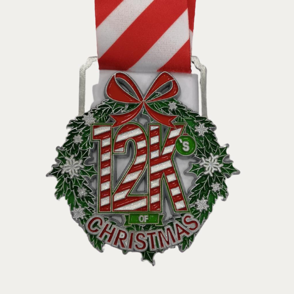 ZOOMA 12Ks of Christmas fun run - holiday challenge