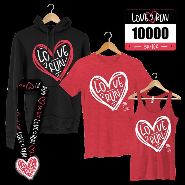 Love 2 Run 5K - Valentine's Day fun run - virtual race