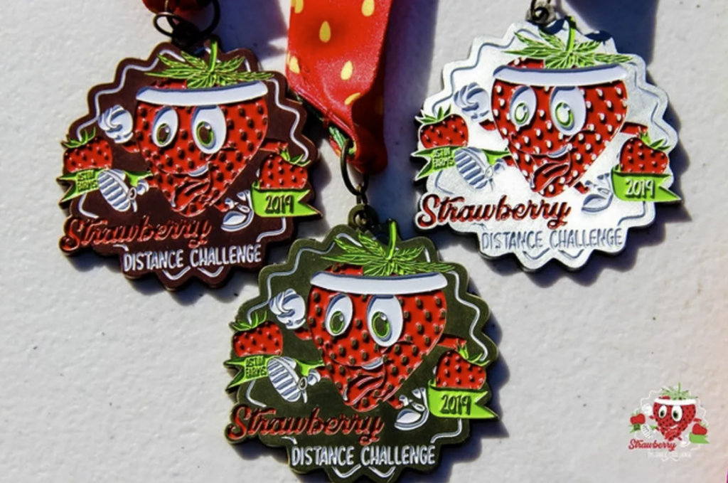 Strawberry distance classic race