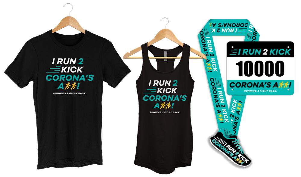 I Run to Kick Corona - virtual race
