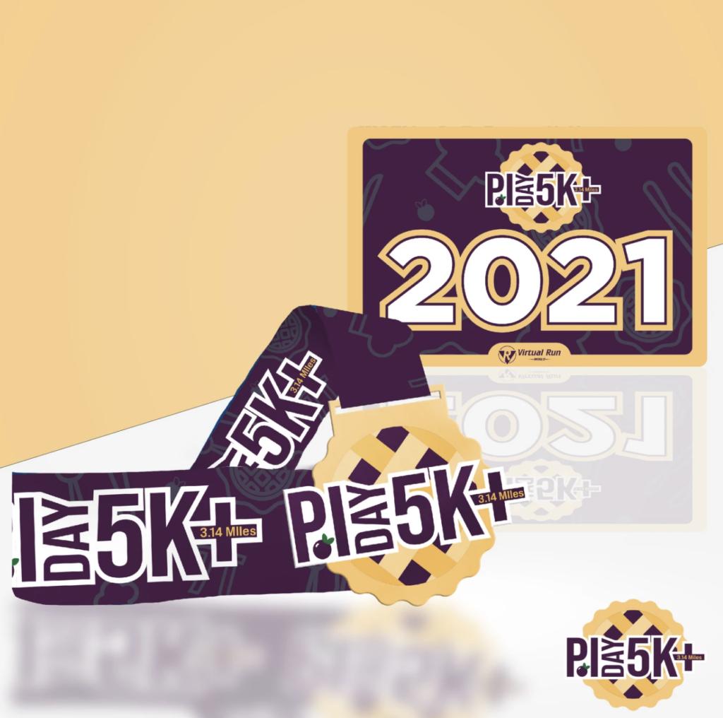 Pi Day 5K - virtual race