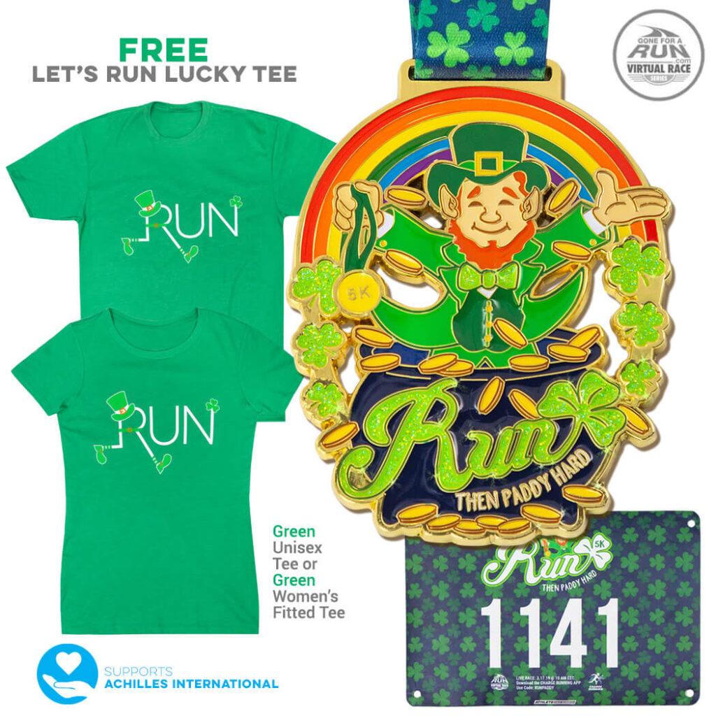 St Patrick's Day 5K - virutal race