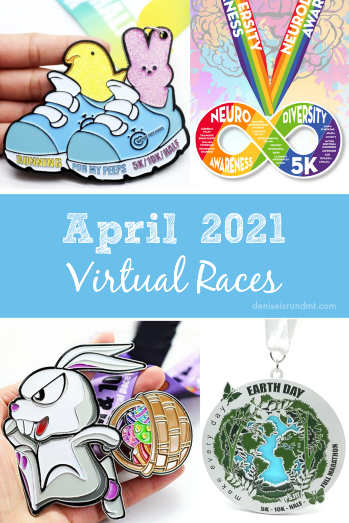 April 2021 Virtual Races - Run DMT