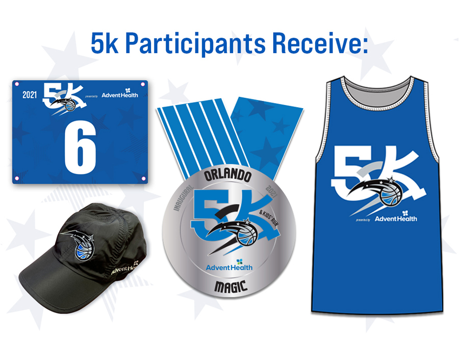 Orlando Magic 5K Virtual Race