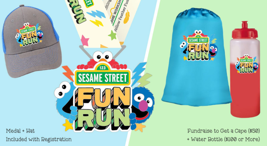Sesame Fun Run - Virtual Race