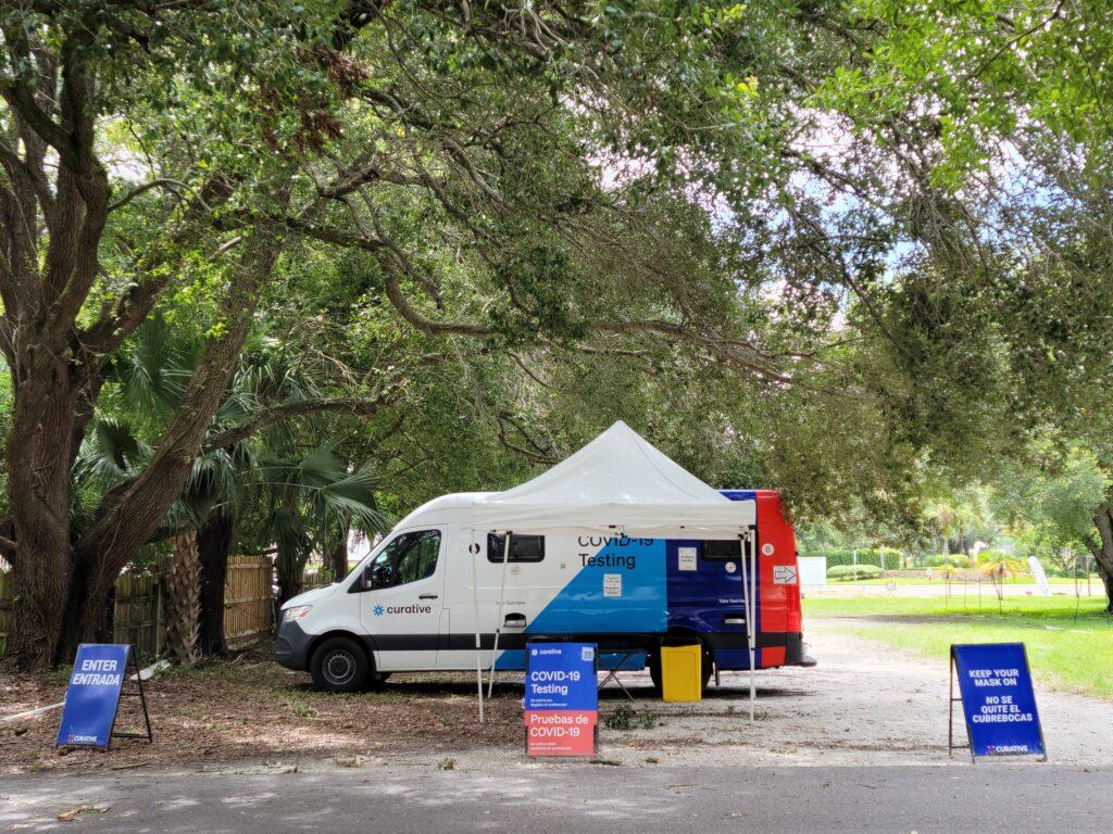 Curative testing site - Tampa