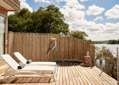 Island Treehouse - Private deck