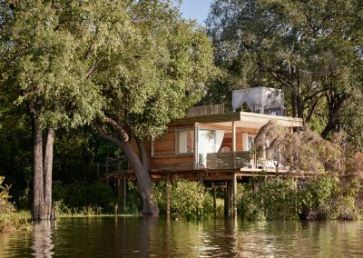 Starbed Treehouse Suite - Rooftop deck