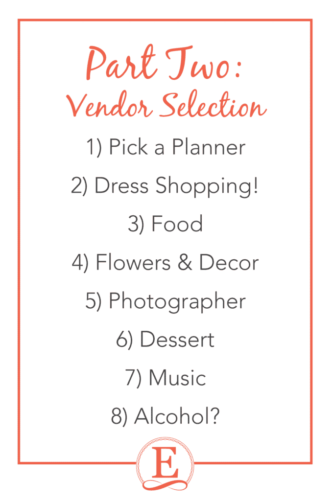 You're Engaged! Now What? Wedding Planning Advice from a Pro at Entwined Events | Forever Entwined Blog | Part Two: Vendor Selection