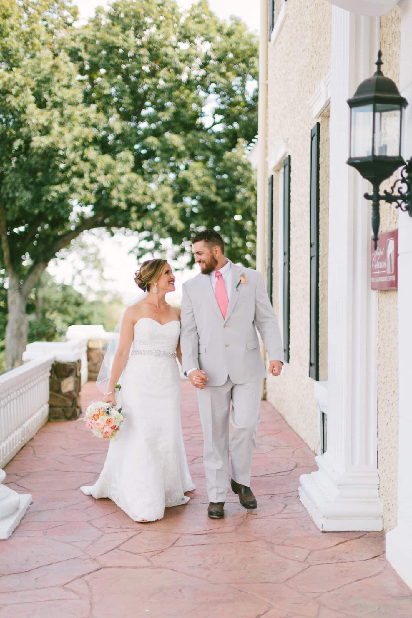 Selecting Your Virginia Wedding Venue | Entwined Events | Venue: The Bedford Columns in Bedford, VA | Photo Credit: Nikki Metcalf Photography